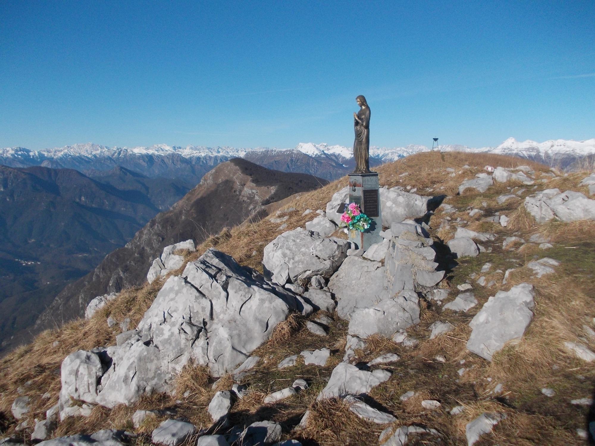 Monte Cuar dal Cuel di Forchia